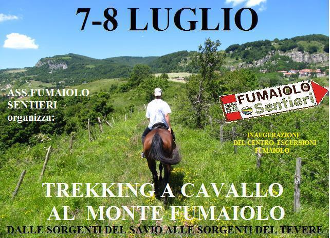 Trekking a Cavallo sul Monte Fumaiolo