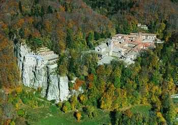 Escursione da Montione alla Verna