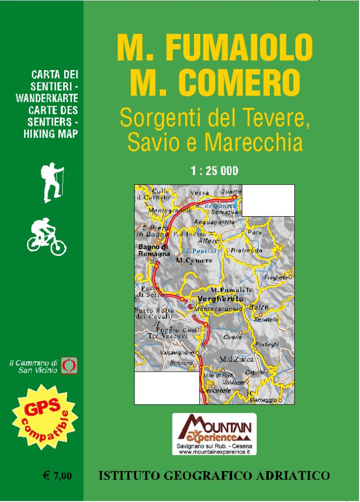 Copertina Cartina Sentieri