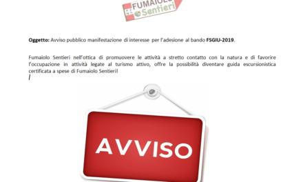 Bando per diventare guida escursionistica certificata (FSGIU-2019)